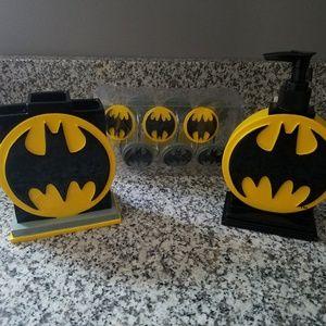 NEW batman super hero bathroom decor bedroom kid